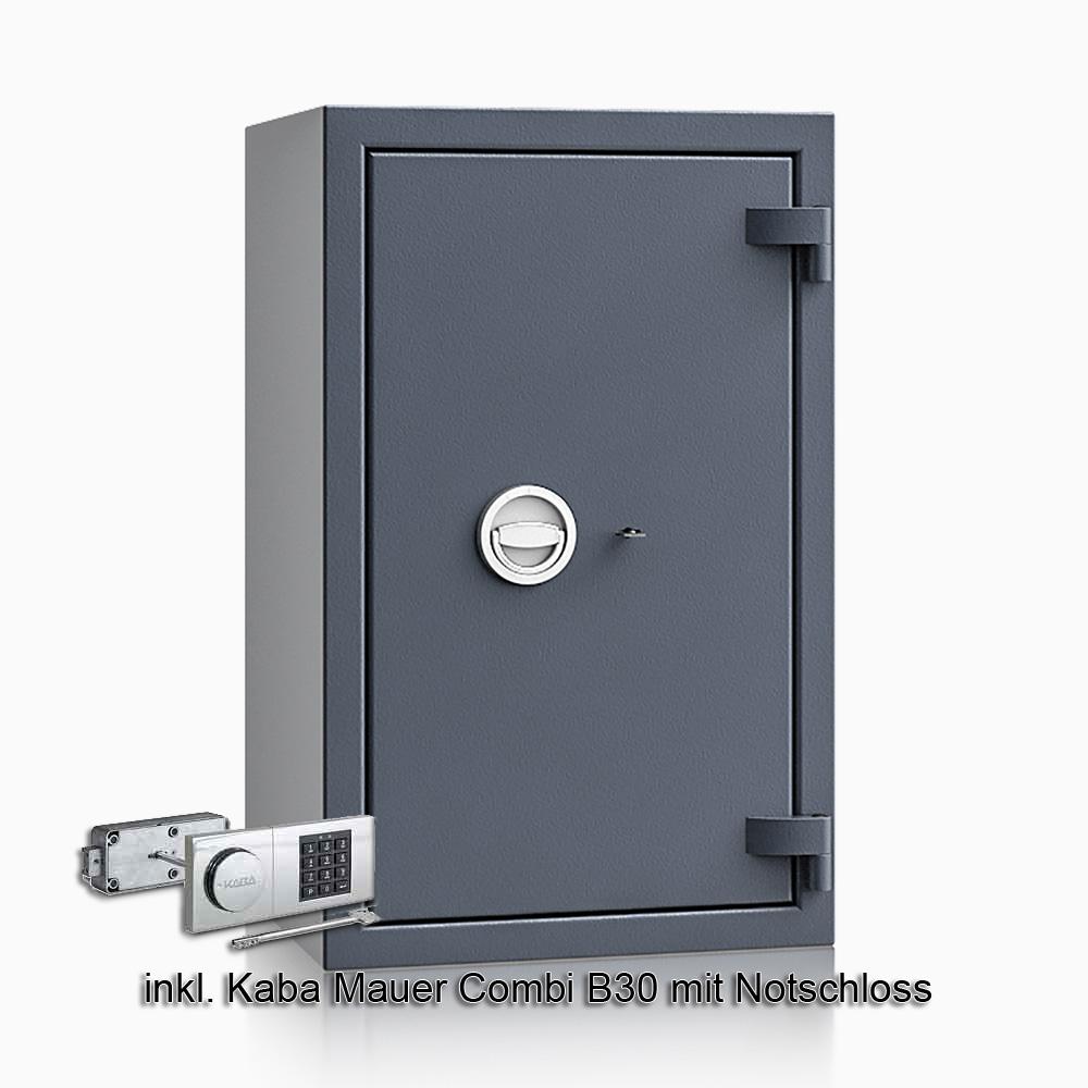 Kurzwaffenschrank - safe4gun 6 - 800x500x420 100kg 593105 / Klasse 1 ECB•S / RAL7024 / B30/Rev. / DIN R