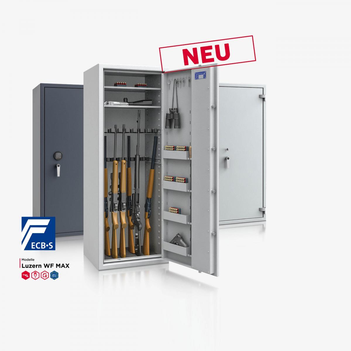 Konfigurator - Waffenschrank Luzern WF MAX