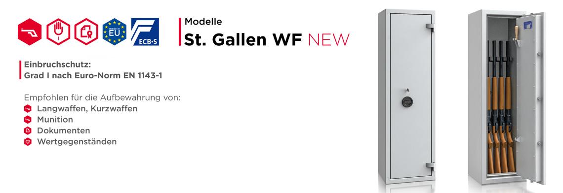 Waffenschrank St. Gallen WF NEW Klasse I nach EN 1143-1 ECB•S