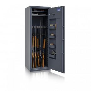 Waffenschrank St. Gallen WF MAX 2 - 1600x550x500 / 212kg 56467 / Klasse I / RAL7024 / Elektr. Basic / DIN R